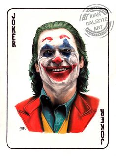 Joker - Joaquin Phoenix by JuanGaleote on DeviantArt