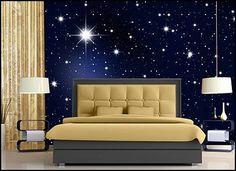 starry night themed bedroom moon bedroom pinterest