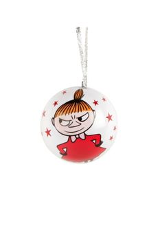 Little My - Moomin Ornament made of metal, openable maybe to hide something sweet in. Little My Moomin, Moomin Valley, How To Make Ornaments, Christmas Tree Ornaments, Holiday Decor, Metal, Disney, Sweet, Art