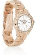 MICHAEL KORS  Stainless steel and crystal-embellished watch