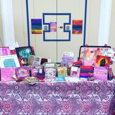 I had a stall at international women's day in the winter gardens in Blackpool yesterday, this is my set up.