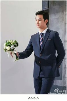 #KimSooHyun #김수현 weibo update earlier is for ZIOZIA  from ZIOZIA Facebook