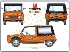 Citroën Mehari 78 - Marine And Land Vehicles Classic Motors, Classic Cars, Retro Cars, Vintage Cars, Volkswagen, Models Men, Beach Cars, Microcar, Jeep