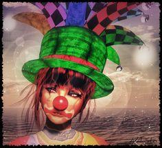 """""""Sad Clown"""", photo by ಌ Nαкσтσ Eχσиαя ಌ."""