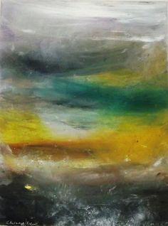 Horizon by Laurence Chandler (acrylic on canvas)