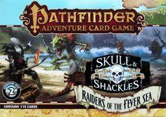Pathfinder Adventure Card Game: Skull & Shackles Adventure Deck 2 – Raiders of the Fever Sea