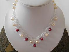 Kaulakoru,lasihelmet Pearl Necklace, Pearls, Jewelry, Fashion, Moda, String Of Pearls, Bijoux, Jewlery