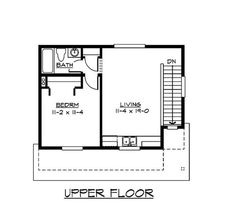 One room house plans 25 x 40 one room cabin plans free for Second floor addition floor plans
