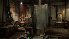 Layers of Fear explores the horror of painting