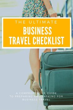 There's an awful lot to think about when planning a business trip, from where to stay to what to pack and how to prepare your home and office of your absence. In this article, I cover everything you'll need to do to prepare for a successful business trip,