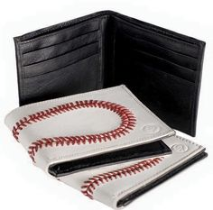 This Christmas give a Baseball Wallet, Its a Gift for all baseball Fans of all Ages.  This gift wallet will always promote a ball game from Little League to the Pros. Add a few Gift Cards and Make your someone extra happy. Great conversation piece to get the ball rolling. Purchase at http://woodbats4sale.com/Baseball_Waletts/Baseball_Wallet.html
