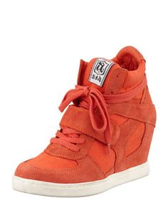 Cool High-Top Wedge Sneaker by Ash