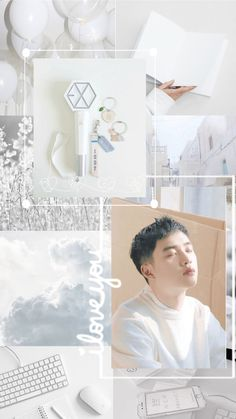 Exo Ot12, Kaisoo, Kyungsoo, D O Exo, Exo Do, Aesthetic Pastel Wallpaper, Aesthetic Wallpapers, Exo Stickers, Baekhyun Wallpaper