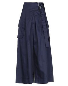 Public School Midi Skirts In Dark Blue School Fashion, Public School, Harem Pants, Dark Blue, Midi Skirts, Weave, Cotton, Closure, Belt