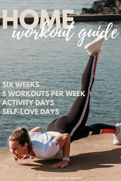 6 Week Workout, At Home Workout Plan, Workout Guide, Gym Workouts, At Home Workouts, You Fitness, Health Fitness, Activity Days, Workout For Beginners