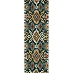 Hand-tufted Arianna Midnight Wool Rug (2'6 x 7'6) | Overstock.com Shopping - Great Deals on Alexander Home Runner Rugs