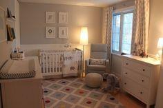 Project Nursery - Neutral and Peaceful Baby Boy Nursery