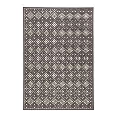 SNEKKERSTEN Rug, low pile - IKEA $60 for 5x7.5 rug, synthetic so good for outdoors or dining area