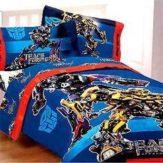 Bedrooom Theme Transformers Bedding And Bedroom Decor