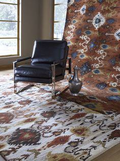 New ikat rugs from Surya.