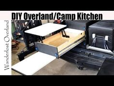 DIY Drawer System Build For Overlanding / Camping. Save big money by building your own! Camping Trailer Diy, Truck Bed Camping, Jeep Camping, Van Camping, Car Camper, Camper Trailers, Chuck Box, Adventure Trailers, Overland Trailer