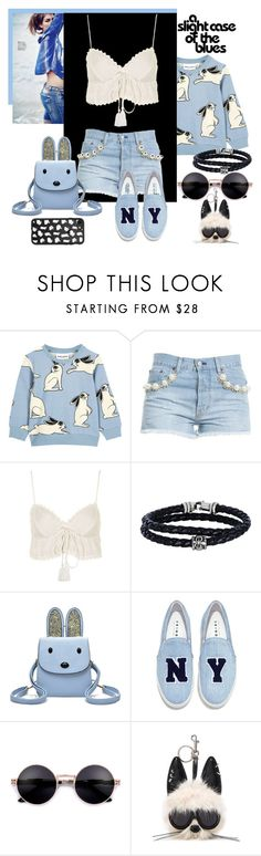 """""""A Slight Case Of The Blues!"""" by lheijl ❤ liked on Polyvore featuring Forte Couture, Topshop, Phillip Gavriel, Joshua's, STELLA McCARTNEY and Casetify"""