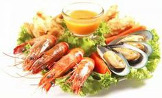 Sea food is a good choice for essential nutrients like protein and selenium. Restaurant Deals, Restaurant Coupons, Pizza Coupons, Daily Health Tips, Order Food, Food Festival, I Foods, Sushi, Seafood