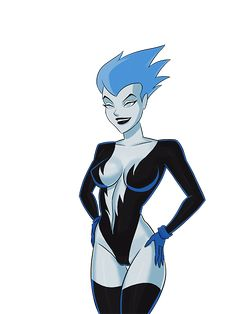 dcau superman (series) superman: the animated series dc comics livewire blue eyes blue hair blue skin breasts cleavage elbow gloves female female only gloves large breasts legs legwear short hair solo thighs Dc Comics Girls, Marvel Girls, Marvel Vs, Disney Marvel, Cartoon Icons, Girl Cartoon, Gordon Batman, Superman The Animated Series, Pin Up