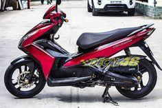Tem xe Honda Airblade 125 - 018 - Tem xe thiết kế Matte Black Air Blade, Matte Black, Honda, Motorcycle, Vehicles, Motorcycles, Car, Motorbikes, Choppers