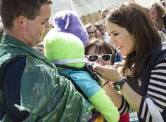 Queens & Princesses - Princess Mary took part in the annual children's race against bullying. This race is organized by Princess Mary Foundation and Save the Children.