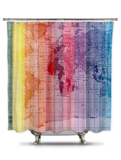 Thick Fabric For Curtains New York Shower Curtain
