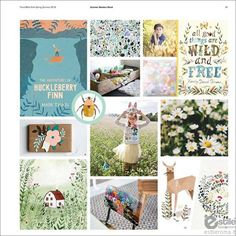 TREND BIBLE KID'S LIFESTYLE TRENDS FOR THE HOME S-S 2016 SummerMeadow