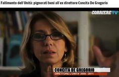 Fallimento de L'Unità: Pignorati beni all'ex direttore Concita De Gregorio