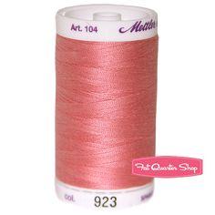 Mettler Bubblegum 100% Cotton Silk Finish Thread Mettler #104-923  #FQSgiftguide