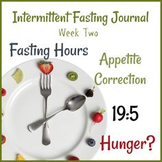 The Intermittent Fasting Journal: Episode Two/Week Two by Donna Reish
