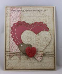 Ideas Vintage Wedding Cards Handmade Ideas Valentines Day For 2019 Valentine Love Cards, Valentine Crafts, Valentines, Valentine Nails, Valentine Ideas, Wedding Anniversary Cards, Wedding Cards, Heart Cards, Diy Cards With Hearts