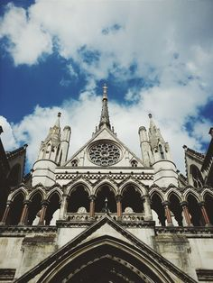 The Royal Courts of Justice ~ London