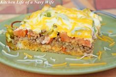 The Kitchen Life of a Navy Wife: John Wayne Casserole