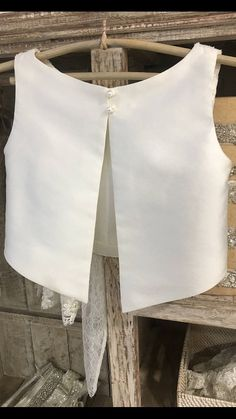 Bridal Lace Top Wedding Separates Ivory Beaded Lace Top Bridal Cover Up Long Sleeve Wedding Top Open Back Topper with Ribbon LUKNE Boat Neck Wedding Dress, Perfect Wedding Dress, Bridal Tops, Bridal Lace, Dress Alterations, Bridal Separates, Designs For Dresses, Skirt Outfits, Blouse Designs