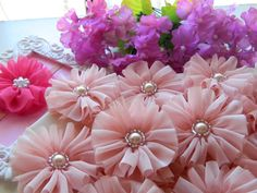 10 pieces Wedding Flower Decoration- Party Flower Decoration- Fabric Flower Supply- DIY crafts supply-Wholesale Flower on Etsy, $14.41