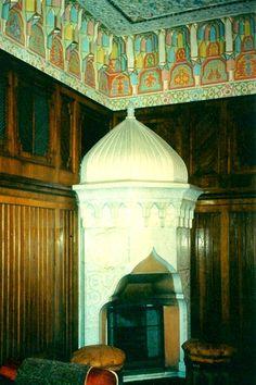 Interior of Czar's Summer Home - Borjumi, Republic of Georgia