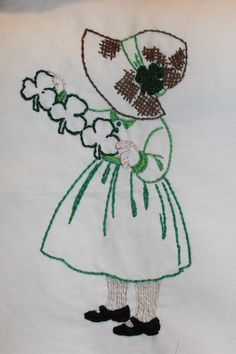 Sunbonnet Sue for March