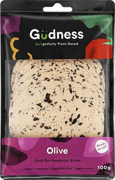 Gudness - SA's first ready to eat plant-based deli sandwich slice. Drinks Before Bed, Deli Sandwiches, Cold Cuts, Egg Muffins, Plant Based, Bakery, Vegetarian, Nutrition, Snacks