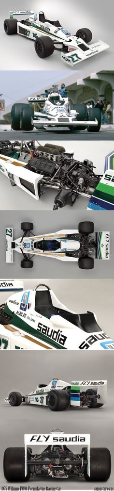 1//43 Decal F1 Test 1981 Rosberg Williams FW07 fly Saudi