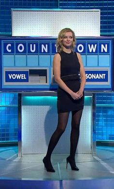 Rachel Riley - she might be gorgeous (jury's not out on that) but not a natural TV presenter despite the efforts of producers to cash in on her obvious appeals -stick to countdown luv.