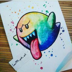 Cool Art Drawings, Art Drawings Sketches, Disney Drawings, Cartoon Drawings, Easy Drawings, Doodle Art, Desenho New School, Geek Art, Disney Art