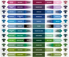 Citadel Color Chart