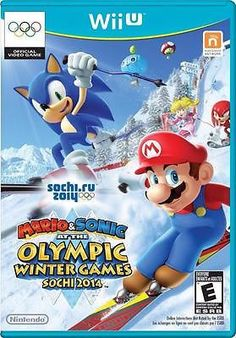 Join your favorite characters, from Mario and Sonic to Princess Peach and Amy, as they team up and compete in the most exciting sports events at the Sochi 2014 Olympic Winter Games. Compete in 24 thrilling events including bobsleigh, skiing, figure skating pairs, and even snowboard slopestyle, which will make its Olympic debut in Sochi, Russia!