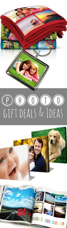 Get personalized gifts and personalized photo deals from this post. Pin this post if you like giving Father's Day gifts, Mother's Day gifts, graduation gifts, baby gifts and more!  http://couponcravings.com/personalized-photo-deals/