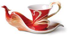 Phoenix teacup and saucer